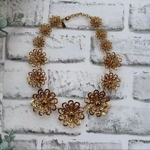 Kate Spade Gold Flower Necklace